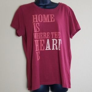 "Life is Good ""Home is Where the Heart is"" Tee"